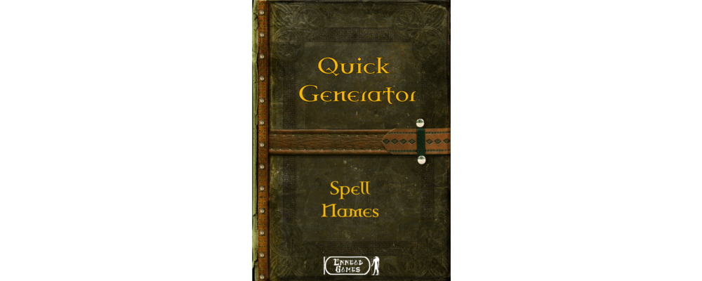 Product Hilight - Quick Gen : Spell Names