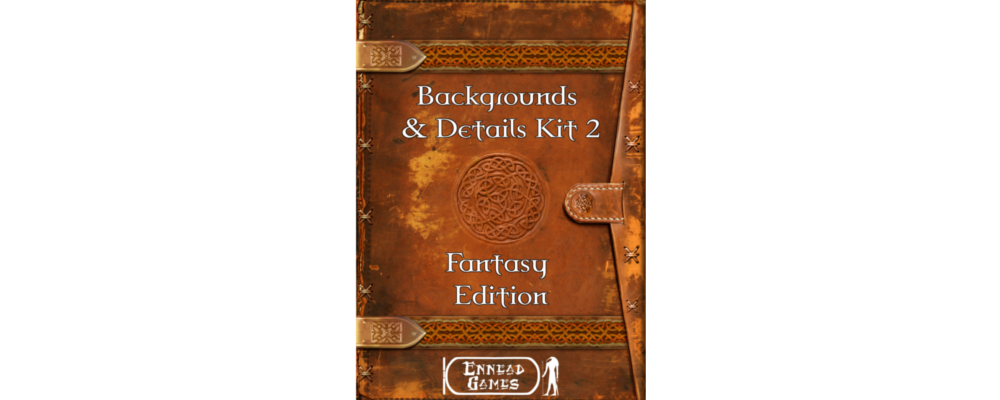 Backgrounds & Details Kit 2 – Fantasy Edition + RPG Round Up
