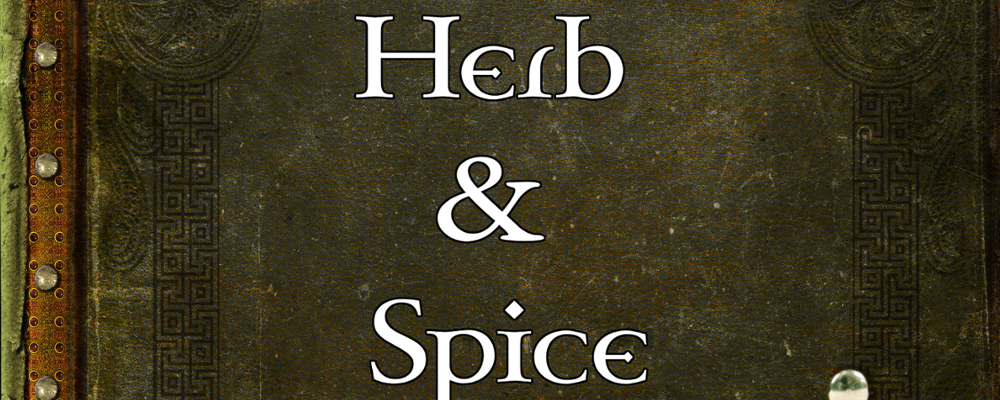 Herb & Spices Name Generator + RPG Round Up