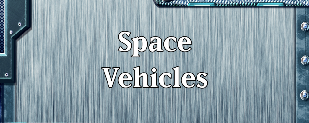 Quick Generator – Space Vehicles & RPG Round Up
