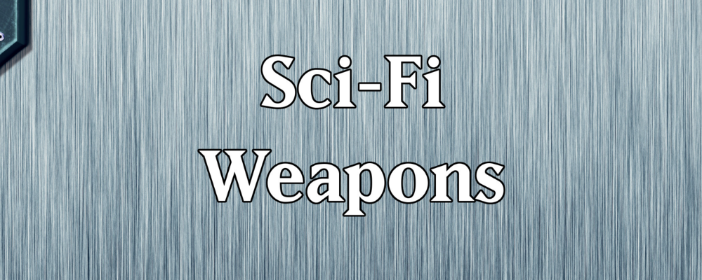 Quick Generator – Sci-Fi Weapons & RPG Round Up