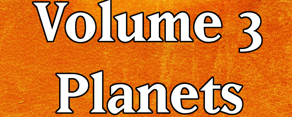 Encounters & Events – Sci-Fi Volume 3 – Planet Types details + the RPG Round Up