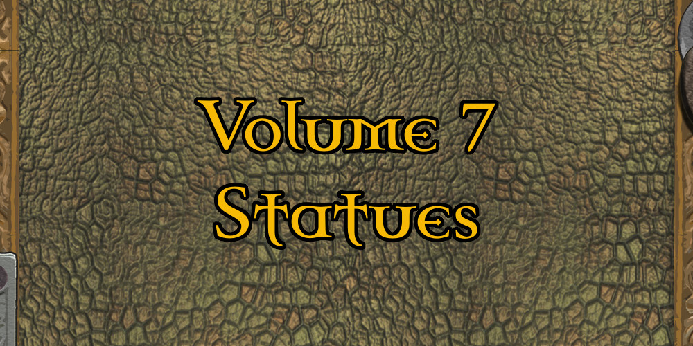 Dungeon Features 7 – Statues and the RPG Round Up