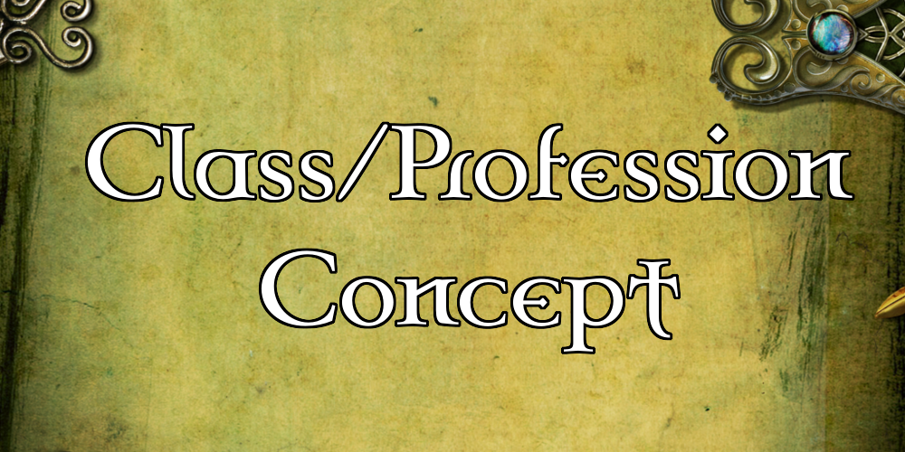 [PDF] – Quick Generator – Class/Profession Concept